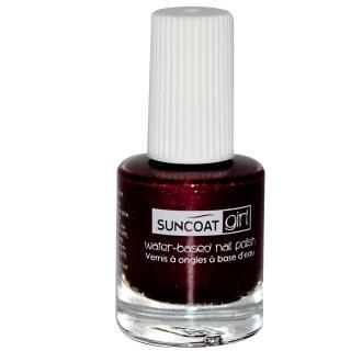 Suncoat Girl, Water-Based Nail Polish, Majestic Purple, 0.27 oz (8 ml)