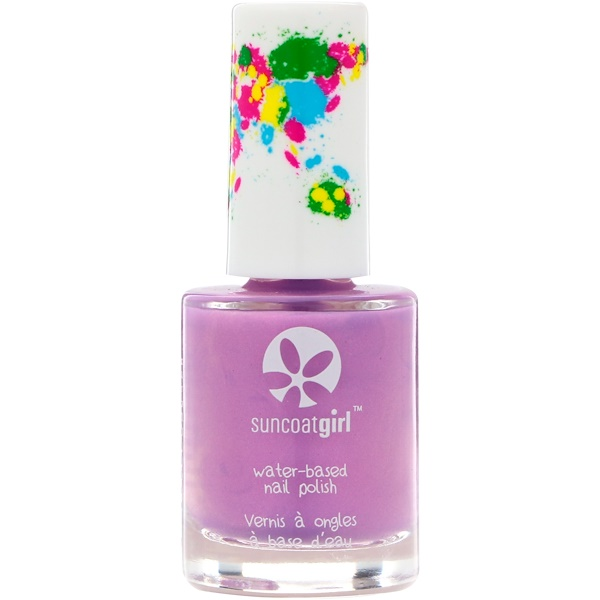 SuncoatGirl, Water-Based Nail Polish, Majestic Purple, 0.27 oz (8 ml) (Discontinued Item)
