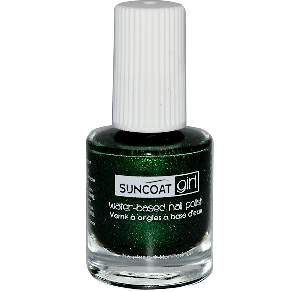 Suncoat Girl, Water-Based Nail Polish, Going Green, 0.27 oz (8 ml) (Discontinued Item)