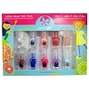 SuncoatGirl, Water-Based Nail Polish Kit, Flare & Fancy, 10 Pieces