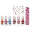 SuncoatGirl, Water-Based Nail Polish Mini Mani Kit,  8 Pieces
