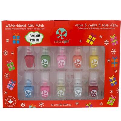 Купить Набор мини-лаков для ногтей Merry Mini, Mani, 10 шт.