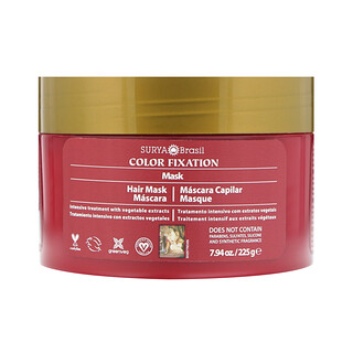 Surya Brasil, Color Fixation - Restorative Hair Mask, 7.6 fl oz (225 g)