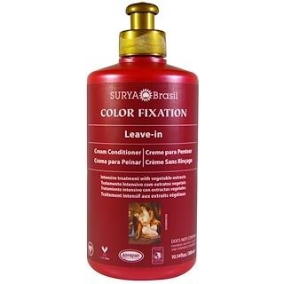 Surya Henna, Color Fixation, Leave-In Cream Conditioner, 10.14 fl oz (300 ml)