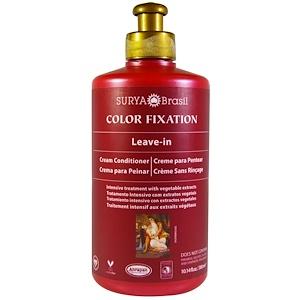 Сурия Хенна, Color Fixation, Leave-In Cream Conditioner, 10.14 fl oz (300 ml) отзывы покупателей