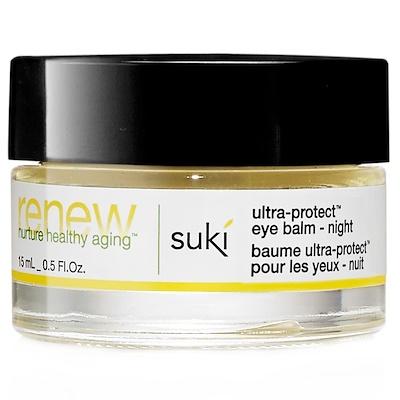 Suki Inc. 再生,超級保護眼霜,夜用,0.5液盎司(15毫升)