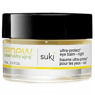 Suki Inc., Renew, Ultra-Protect Eye Balm - Night, 0.5 fl oz (15 ml)