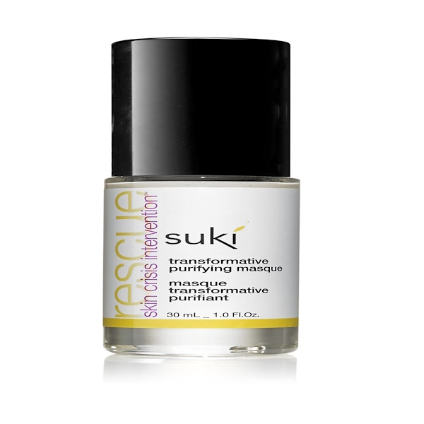 Suki Inc., Rescue, Transformative Purifying Masque, 1.0 fl oz (30 ml) (Discontinued Item)