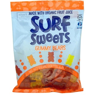 SurfSweets, Gummy Bears, 2.75 oz (78 g)