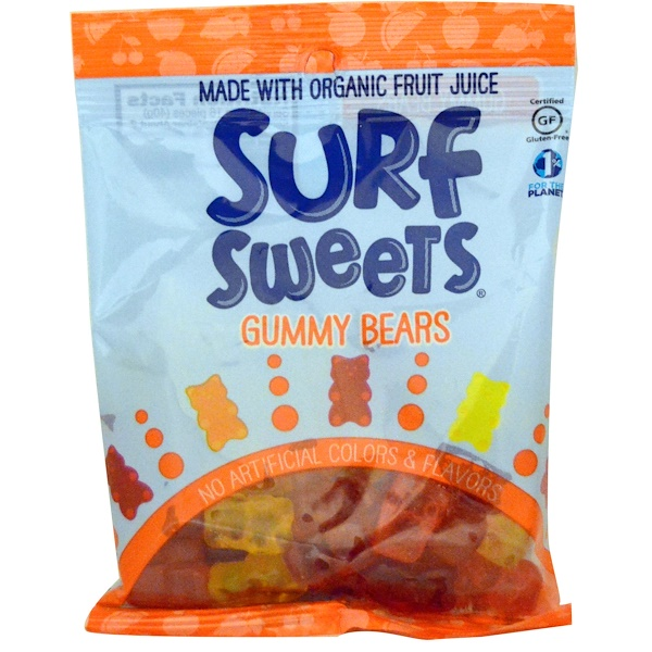 Surf-Sweets, Gummy Bears, 2.75 oz (78 g)