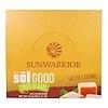 Sunwarrior, オーガニック太陽の恵みプロテインバー、塩キャラメル、12本、各66g