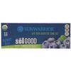 Sunwarrior, Bio-Sol gutes Protein Riegel, Blaubeer-Explosion, 12 Riegel, 62 g pro Riegel