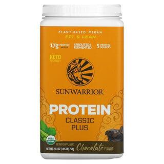 Sunwarrior, Protein Classic Plus, Chocolate, 1.65 lb (750 g)