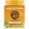 Sunwarrior, Classic Plus Protein, Organic Plant Based, Vanilla, 13.2 oz (375 g)