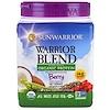 Sunwarrior, Warrior Blend, Plant-Based Organic Protein, Berry, 13.2 oz (375 g)
