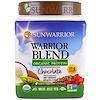 Sunwarrior, Warrior Blend, Plant-Based Organic Protein, Chocolate, 13.2 oz (375 g)