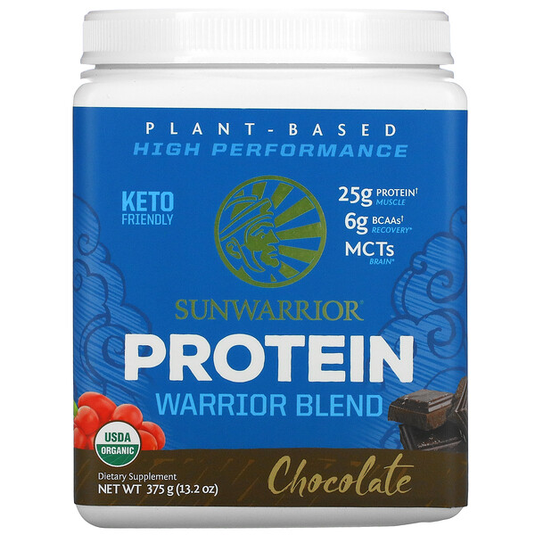 Warrior Blend Protein, Chocolate, 13.2 oz (375 g)