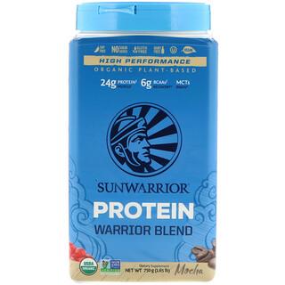 Sunwarrior, Mélange de protéines de guerrier, à base de plantes biologiques, moka, 1,65 lb (750 g)
