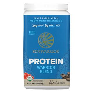 Sunwarrior, Warrior Blend Protein, Mocha, 1.65 lb (750 g)