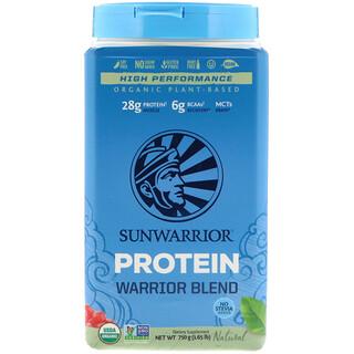 Sunwarrior, Protéine Warrior Blend, à base de plantes biologiques, naturel, 1,65 lb (750 g)