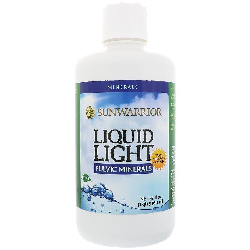 Sunwarrior, Liquid Light, Fulvic Minerals, 32 fl oz (946.4 ml)