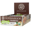 Sunwarrior, Sol Good, Plant-Based Protein Bars, Cinnamon Roll, 12 Bars, 2.01 oz (57 g) Each