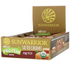 Sunwarrior, Sol Good, Plant-Based Protein Bars, Salted Caramel, 12 Bars, 2.04 oz (58 g) Each