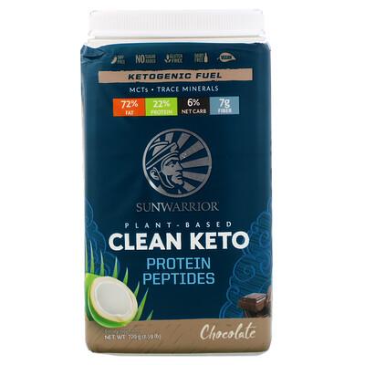 Купить Sunwarrior Plant-Based Clean Keto, Chocolate, 1.59 lb (720 g)