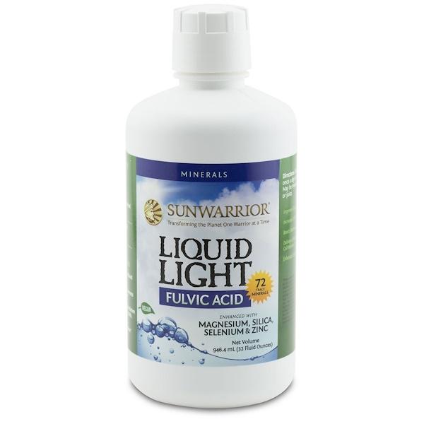 Sunwarrior, 液体光, フルボ酸, 32液量オンス (946.4 ml) (Discontinued Item)