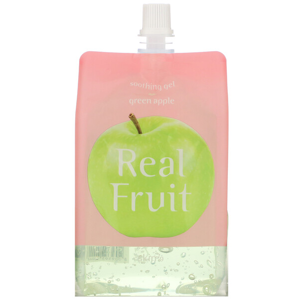 Skin79, Real Fruit Soothing Gel, Green Apple, 10.58 oz (300 g)