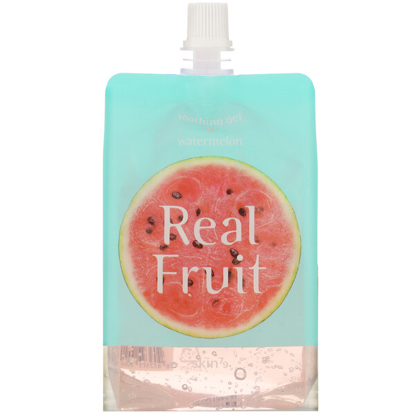 Real Fruit Soothing Gel, Watermelon, 10.58 oz (300 g)
