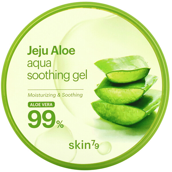 Jeju Aloe, Aqua Soothing Gel, Aloe Vera, 10.58 oz (300 g)