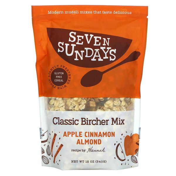 Seven Sundays, Classic Bircher Mix,苹果肉桂巴旦木,12 盎司(340 克)