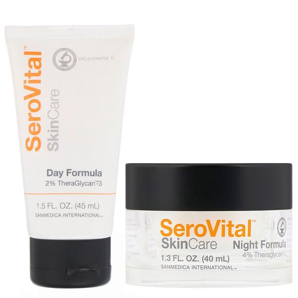 SeroVital, Day and Night Total Facial Rejuvenation System, 2 Piece Kit