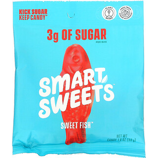 SmartSweets, Sweet Fish, Berry, 1.8 oz (50 g)