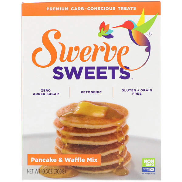 Swerve, Sweets, Pancake & Waffle Mix, 10.6 oz (300 g)  (Discontinued Item)