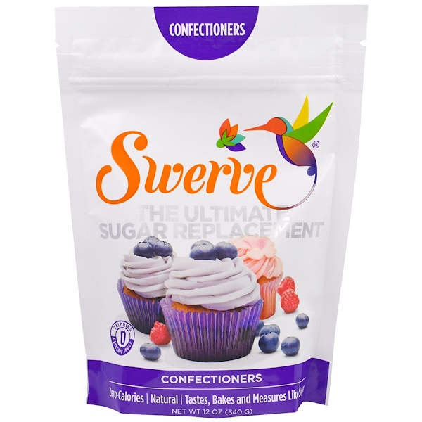 Swerve, The Ultimate Sugar Replacement, Confectioners, 12 oz (340 g)