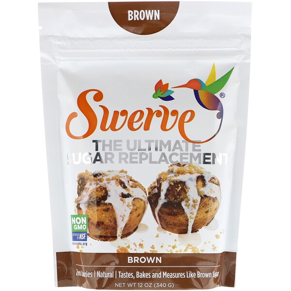 Swerve, The Ultimate Sugar Replacement, Brown, 12 oz (340 g) (Discontinued Item)