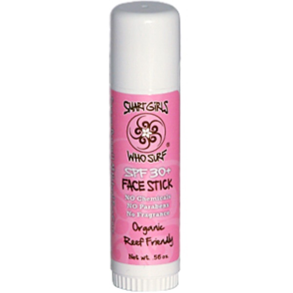 Smart Girls Who Surf, Face Stick SPF 30+, 0.56 oz (Discontinued Item)