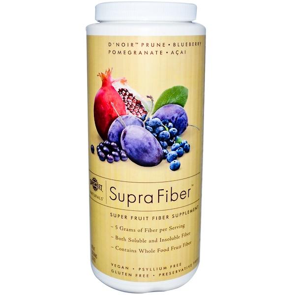 Sunsweet Naturals, Supra Fiber, Super Fruit Fiber Supplement, 10.6 oz (300 g) (Discontinued Item)