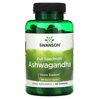 Swanson, Ashwagandha, 450 mg, 100 Capsules