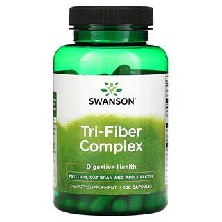 Swanson, Tri-Fiber Complex, 100 Capsules