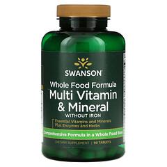 Swanson, 全食配方,多維生素和礦物質,90 片