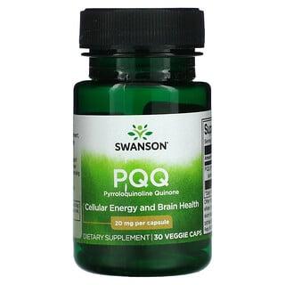 Swanson, PQQ, 20 mg, 30 Veggie Caps