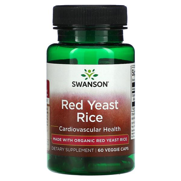 Red Yeast Rice, 60 Veggie Caps