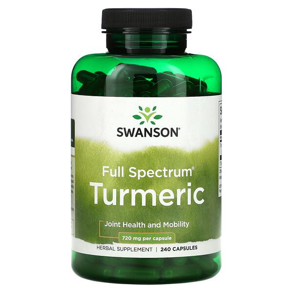 Full Spectrum Turmeric, 360 mg, 240 Capsules