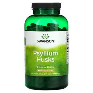 Swanson, Psyllium Husks, 610 mg, 300 Capsules