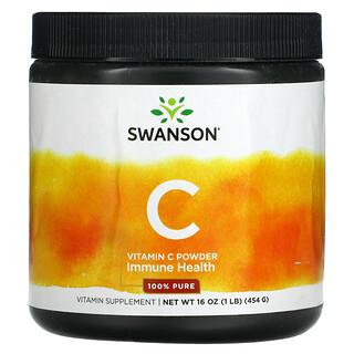 Swanson, Vitamin C Powder, 16 oz ( 454 g)