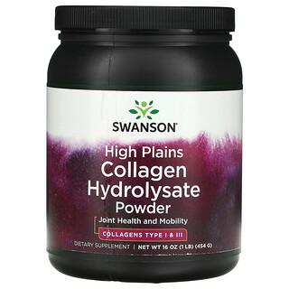 Swanson, High Plains Collagen Hydrolysate Powder, 16 oz (454 g)