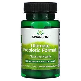 Swanson, Ultimate Probiotic Formula, 30 Veggie Embo Caps Ap